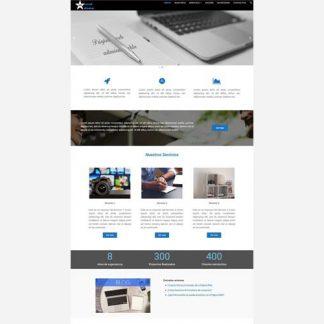 Tema wordpress irweb14 para Página Web