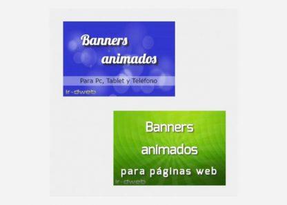 banners animados en html5 para páginas web