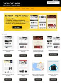Catálogo de productos Web, Temas Wordpress, Páginas Web administrables, Páginas Web estilo One Page, Páginas Web multilenguaje, Mapas Google Maps personalizados