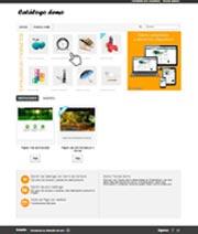 Catálogo de productos Web