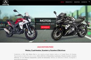 Motos, cuatrimotos, scooters ASIA y ASYA en Perú