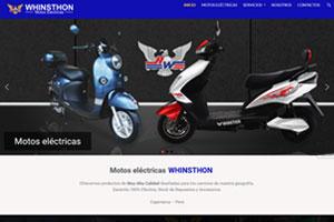 Motos eléctricas Whinsthon - Cajamarca Perú