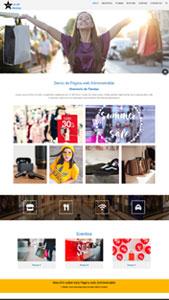 Página web administrable directorio tiendas