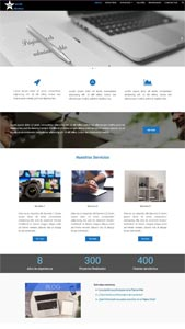 plantilla (tema) wordpress para Página Web