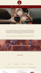 Página Web administrarle para Cafeterías, Restaurantes