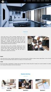 Tema WordPress de Página Web estilo One Page administrable